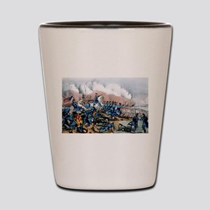 The battle of Newbern, NC - 1862 Shot Glass