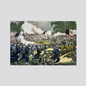 The battle of Gettysburg, Pa - 1863 Magnets