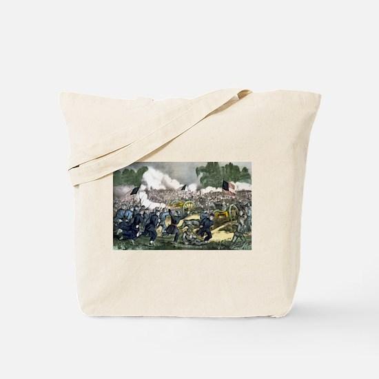 The battle of Gettysburg, Pa - 1863 Tote Bag