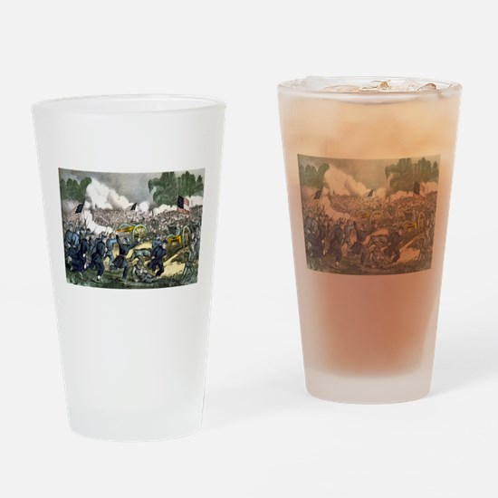 The battle of Gettysburg, Pa - 1863 Drinking Glass