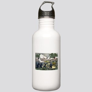 The battle of Gettysburg, Pa - 1863 Water Bottle