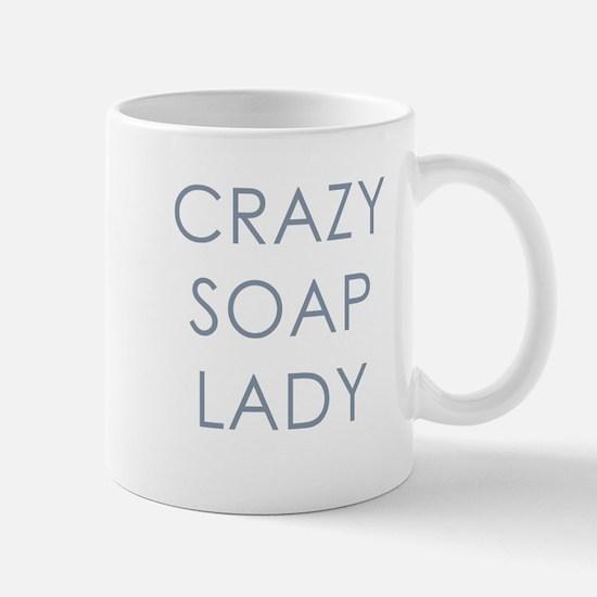Crazy Soap Lady Mug