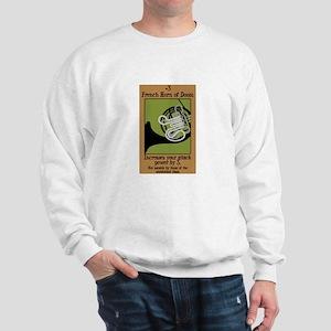 French Horn of Doom Sweatshirt