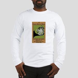 French Horn of Doom Long Sleeve T-Shirt