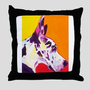 Great Dane #9 Throw Pillow