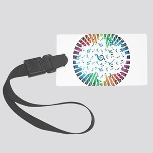 Music - Musician - Band - Music Notes Luggage Tag