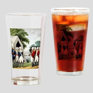 Surrender of Cornwallis - 1845 Drinking Glass