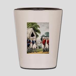 Surrender of Cornwallis - 1845 Shot Glass