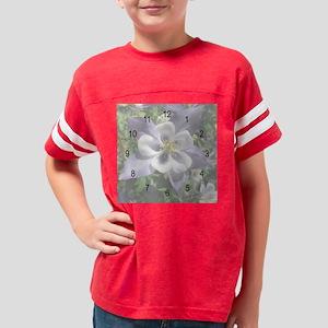 Colorado State Flower Clock Youth Football Shirt