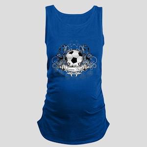Soccer Aunt Maternity Tank Top