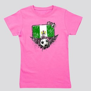 Soccer fan Nigeria Girl's Tee