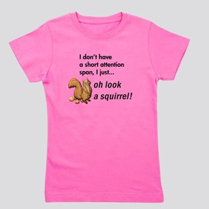 Oh Look A Squirrel Girl's Tee
