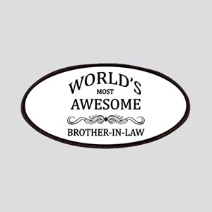 World's Most Awesome Brother-in-Law Patches