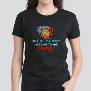 Out of my way! Women's Dark T-Shirt