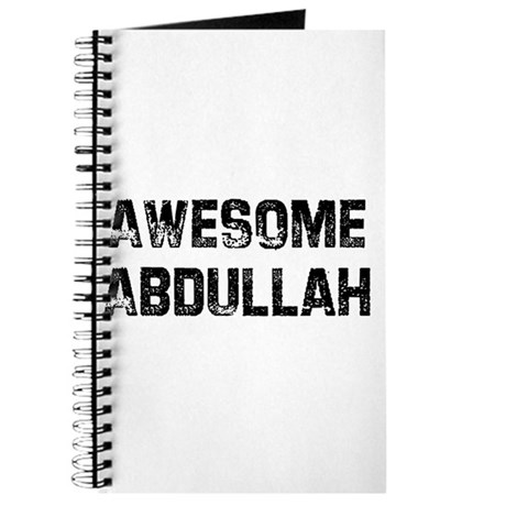 Awesome Abdullah Journal