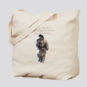 Americans United: Warrior Storm Tote Bag