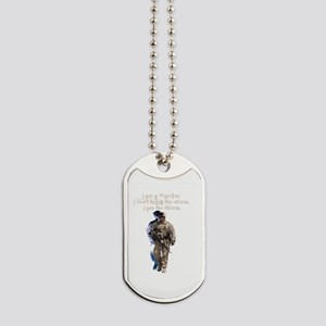 Americans United: Warrior Storm Dog Tags
