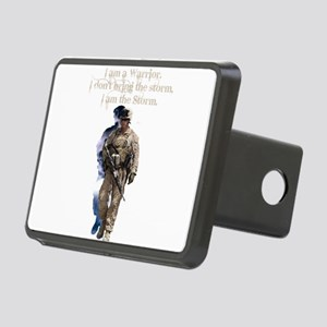 Americans United: Warrior Rectangular Hitch Cover
