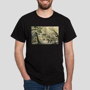 Landing of the Pilgrims at Plymouth - 1856 T-Shirt