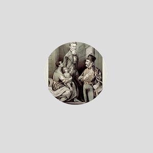 John Brown--the martyr - 1870 Mini Button