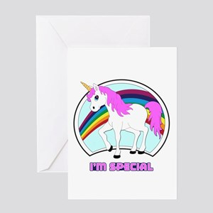 I'm Special Funny Unicorn Greeting Card
