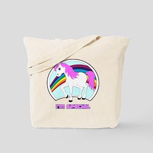 I'm Special Funny Unicorn Tote Bag