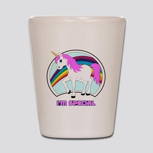 I'm Special Funny Unicorn Shot Glass