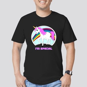 I'm Special Funny Unicorn Men's Fitted T-Shirt (da