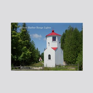 Baileys Harbor Range Lights Magnets
