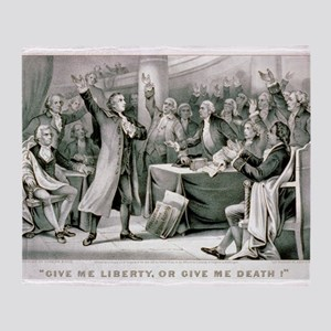Give me liberty, or give me death - 1876 Throw Bla
