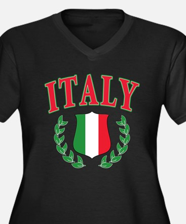 Italy Plus Size T-Shirt