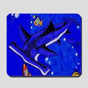 Hamerhead Shark Mousepad