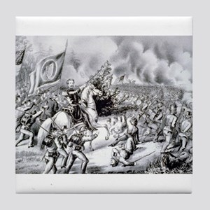 Genl. Meagher at the Battle of Fair Oaks Va - 1862