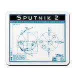 SPUTNIK 2 Blueprints Mousepad