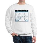 SPUTNIK 2 Blueprints Sweatshirt