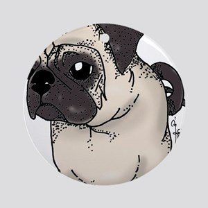 Pug - Are you looking at me? Ornament (Round)