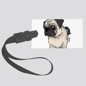 Pug - Are you looking at me? Luggage Tag