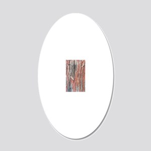 The Woods  20x12 Oval Wall Decal