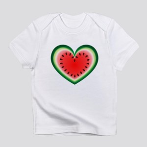 Watermelon Heart Infant T-Shirt