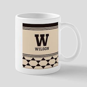 Simple Clean Elegant Monogram Mug