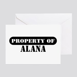 Property of Alana Greeting Cards (Pk of 10)