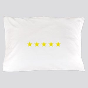 five star yellow Pillow Case