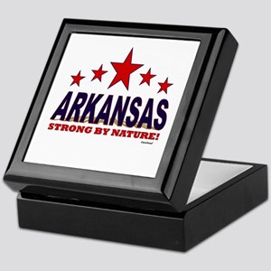 Arkansas Strong By Nature Keepsake Box