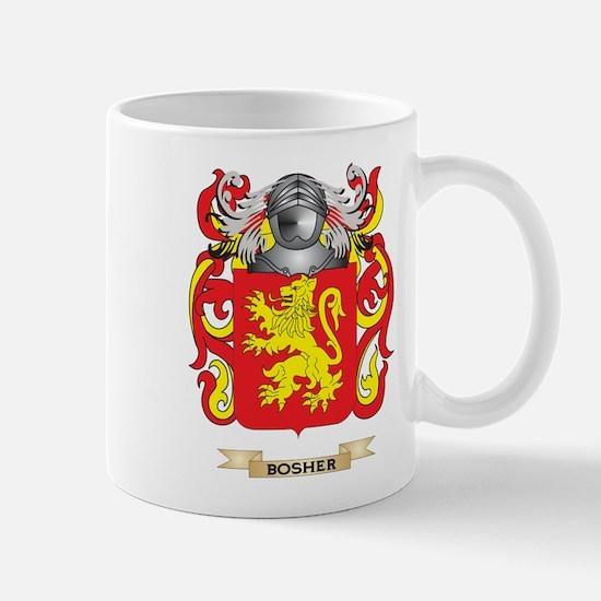Bosher Coat of Arms Mug