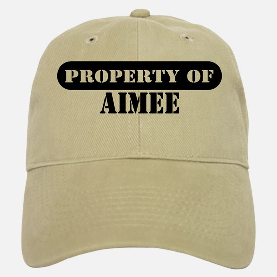 Property of Aimee Baseball Baseball Cap