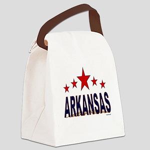Arkansas Canvas Lunch Bag