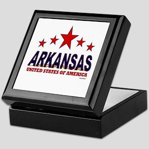 Arkansas U.S.A. Keepsake Box
