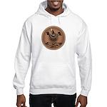 Mimbres Brn Quail Hooded Sweatshirt