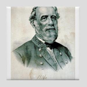 General Robert E. Lee - 1870 Tile Coaster