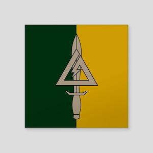 """1st SFOD-D Square Sticker 3"""" x 3"""""""